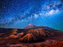 Best Spot Milky Way di Bromo Surabaya