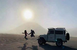 Seronoknya Naik Jeep Di Gunung Bromo Surabaya